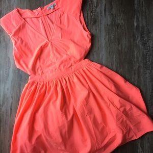 Charlotte Russe Neon Dress